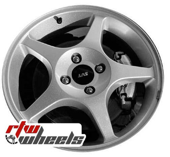 17 inch Ford Focus  OEM wheels 3481 part# 2M5Z1007AA, 2M5V1007AA