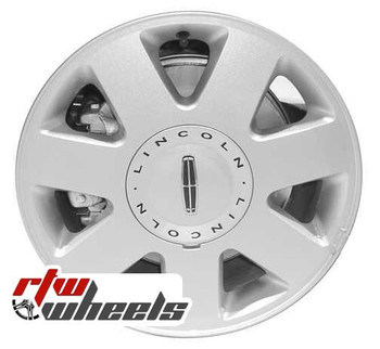 16 inch Lincoln LS  OEM wheels 3512 part# 3W4Z1007CA, 3W431007EA