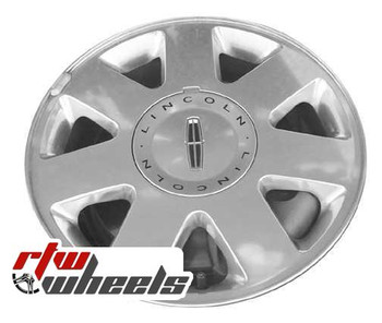 16 inch Lincoln LS  OEM wheels 3512 part# 3W4Z1007CA, 3W431007EA