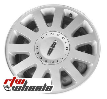 16 inch Lincoln LS  OEM wheels 3513 part# 3W4Z1007CA, 3W431007EA
