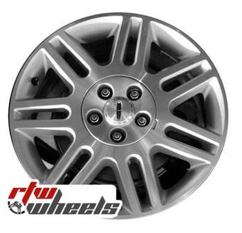 17 inch Lincoln LS  OEM wheels 3514 part# 3W4Z1007FA