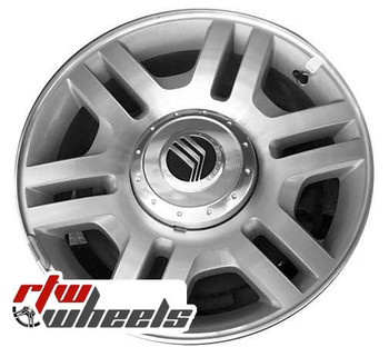 17 inch Mercury Mountaineer  OEM wheels 3525 part# 2L2Z1007AA, 2L241007AD