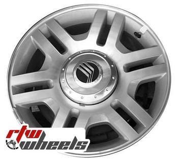 17 inch Mercury Mountaineer  OEM wheels 3525 part# 2L2Z1007AA, 2L241007AD
