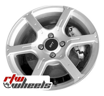 17 inch Ford Focus  OEM wheels 3535 part# 4M5Z1007AA, 4M5V1007AA