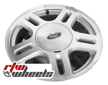 16 inch Ford Freestar  OEM wheels 3544 part# 3F2Z1007CA, 6F221007D
