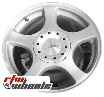 16 inch Ford Mustang  OEM wheels 3549 part# tbd