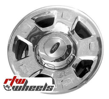 17 inch Ford F150  OEM wheels 3555 part# 4L3Z1007EC