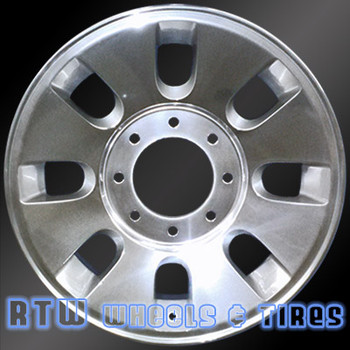 18 inch Ford F250 F350  OEM wheels 3690 part# 7C3Z1007A, 7C341007AA, 7C341007AB