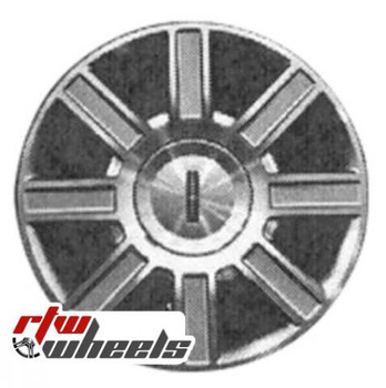 17 inch Lincoln Town Car  OEM wheels 3754 part# 6W1Z1007C, 6W131007CB