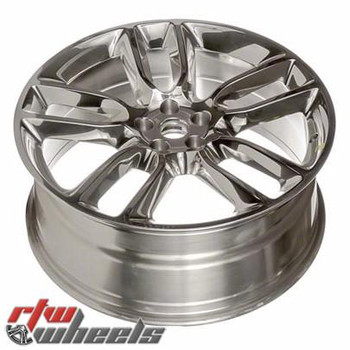 "Ford Edge wheels 2009-2010. 22"" Polished rims 3783"