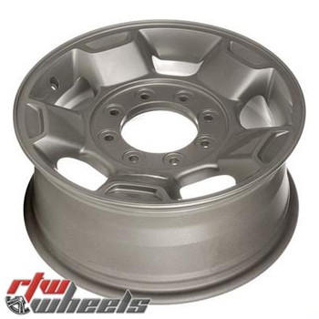 "Ford F250 F350 wheels 2010-2012. 17"" Silver rims 3829"