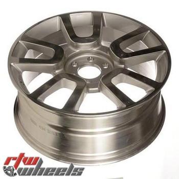 "Ford F150 wheels 2010-2011. 22"" Polished Silver rims 3830"