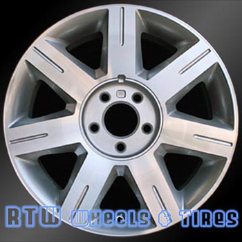 17 inch Cadillac DTS  OEM wheels 4600 part# tbd