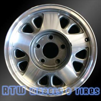 15 inch Chevy Astro  OEM wheels 5025 part# 12355109, 9591912