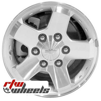 16 inch Chevy Colorado  OEM wheels 5425 part# 9597842