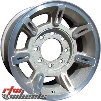 17 inch Hummer H2  OEM wheels 6300 part# 09594460, 09595566, 09595930