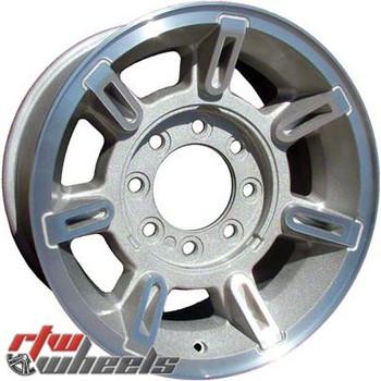 17 inch Hummer H2  OEM wheels 6300 part# 09594460, 09595566, 09595930