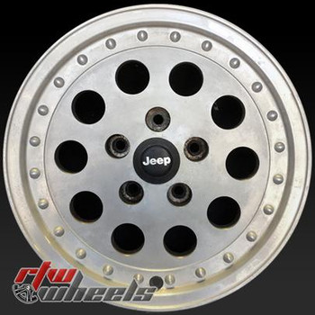15 inch Jeep Truck  OEM wheels 9030 part# tbd