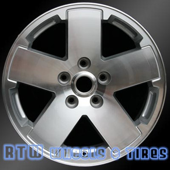 18 inch Jeep Wrangler  OEM wheels 9076 part# tbd