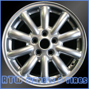 16 inch Jaguar S Type  OEM wheels 59772 part# tbd