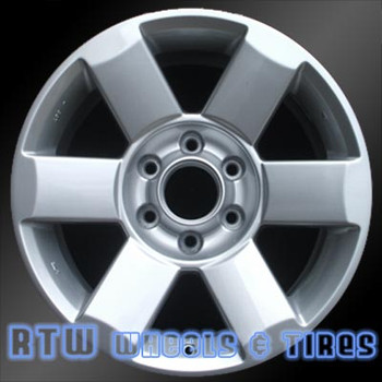 18 inch Nissan Titan  OEM wheels 62439 part# 403007S501
