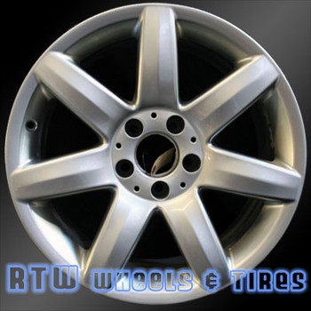17 inch Mercedes SL500  OEM wheels 65278 part# tbd