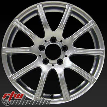 17 inch Mercedes SLK280  OEM wheels 65362 part# 1714012302