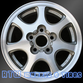 15 inch Toyota Solara  OEM wheels 69378 part# 4261106130