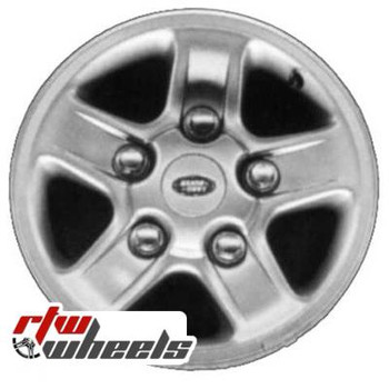 16 inch Land Rover Discovery  OEM wheels 72150 part# tbd