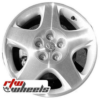 17 inch Infiniti I30  OEM wheels 73657 part# tbd