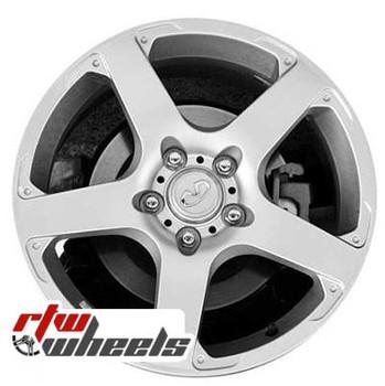 17 inch Infiniti G35  OEM wheels 73668 part# 40300AL025, 40300AL026