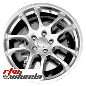 18 inch Infiniti G35  OEM wheels 73682 part# tbd