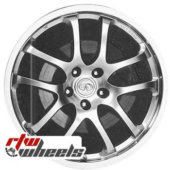 19 inch Infiniti G35  OEM wheels 73683 part# tbd