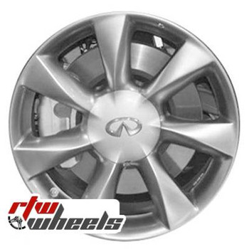 17 inch Infiniti EX35  OEM wheels 73699 part# tbd