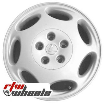 16 inch Lexus LS400  OEM wheels 74158 part# 4261150310, 4261150300
