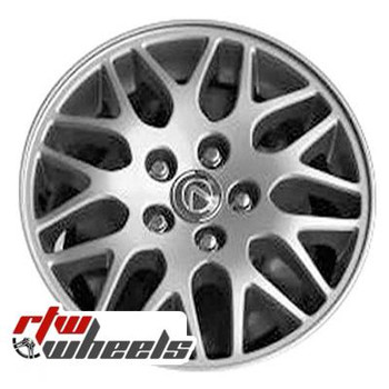 16 inch Lexus IS300  OEM wheels 74175 part# 4261153100, 4261153101