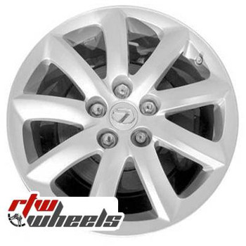 18 inch Lexus LS460  OEM wheels 74195 part# tbd