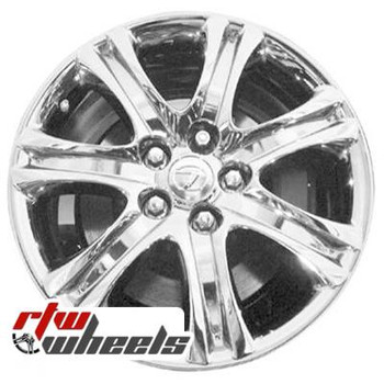 18 inch Lexus LS460  OEM wheels 74220 part# 845750806