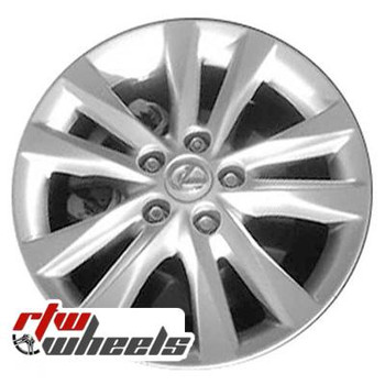 17 inch Lexus ES350  OEM wheels 74224 part# 4261133700, 4261133720