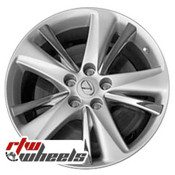 18 inch Lexus GS450H  OEM wheels 74228 part# 4260130080, 4260130090