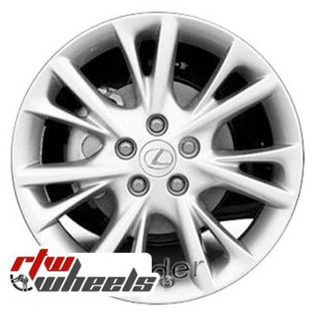 18 inch Lexus HS250H  OEM wheels 74232 part# 4261175080, 4261175090