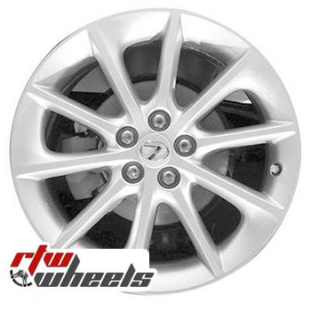 17 inch Lexus CT200H  OEM wheels 74257 part# 4261176050, 4261176060