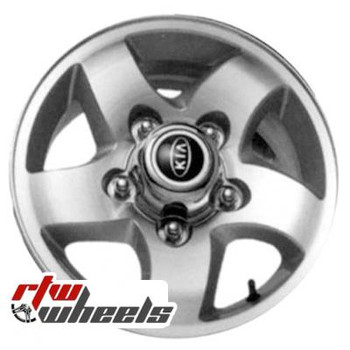 15 inch Kia Sportage  OEM wheels 74541 part# K9965456050