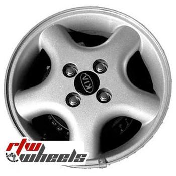 14 inch Kia Spectra  OEM wheels 74547 part# K9965655540