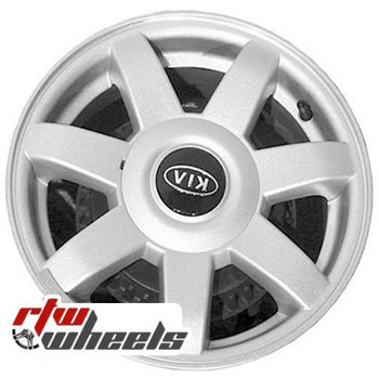 14 inch Kia Spectra  OEM wheels 74561 part# K9965S45540