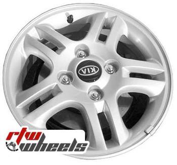 15 inch Kia Spectra  OEM wheels 74573 part# 529102F600