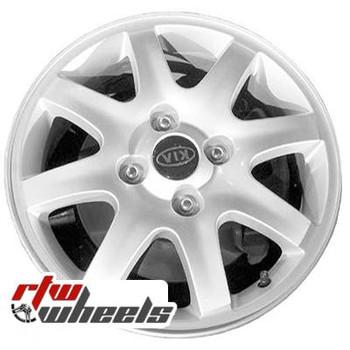 16 inch Kia Spectra  OEM wheels 74574 part# 529102F500