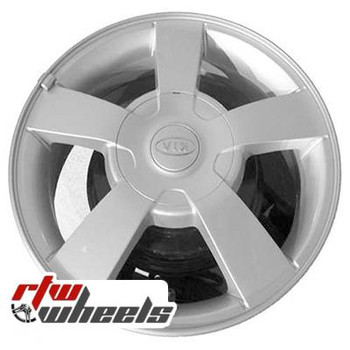 15 inch Kia Rio  OEM wheels 74580 part# 529101G200, 529101G205, 529101G250,