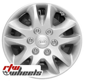 17 inch Kia Sedona  OEM wheels 74582 part# 529104D260