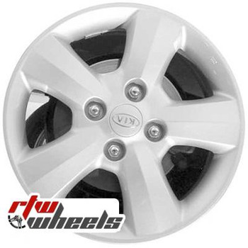 16 inch Kia Spectra  OEM wheels 74591 part# 529102F660